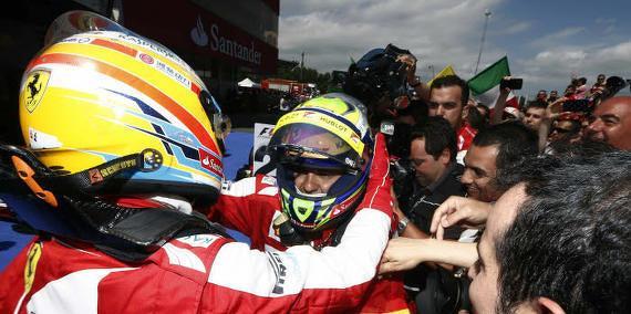Fernando Alonso - Felipe Massa