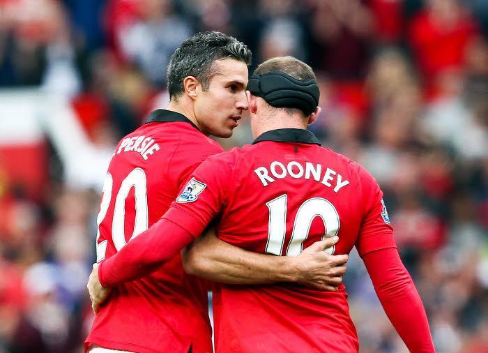 Robin van Persie & Wayne Rooney, Manchester United