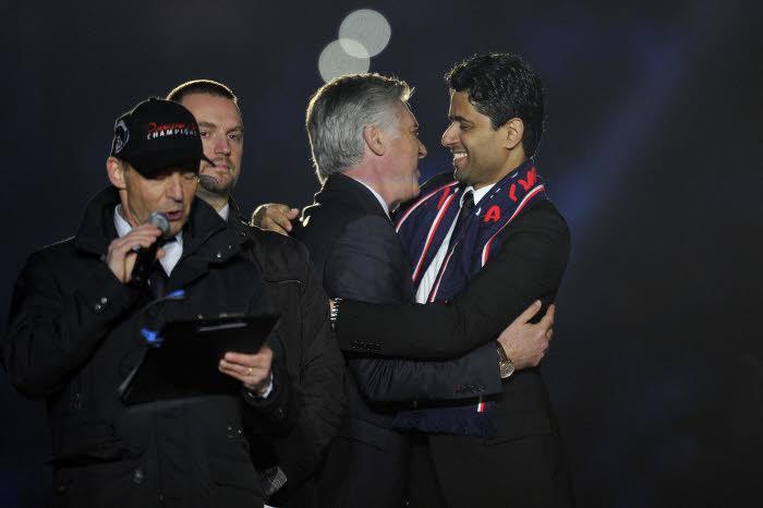 Al-Khelaïfi : «Ancelotti ? Pas de relation conflictuelle entre nous»