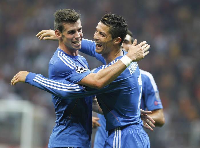 Cristiano Ronaldo et Gareth Bale, Real Madrid