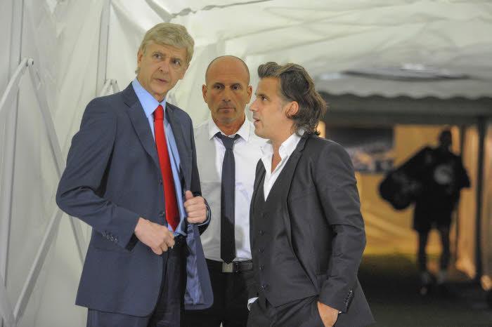 Wenger : «L'OM veut que les futurs grands joueurs grandissent chez eux»