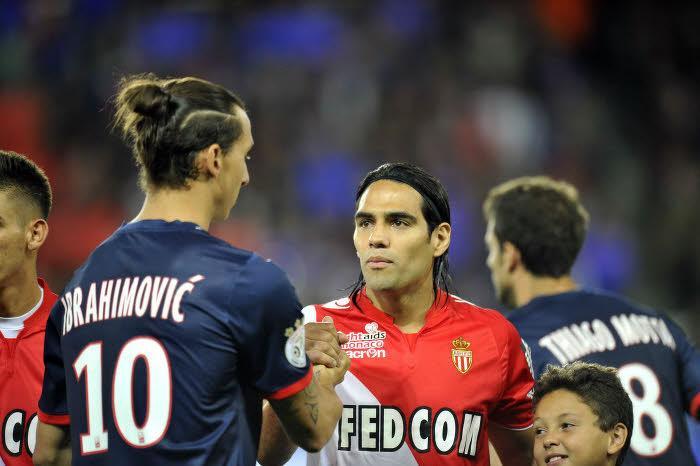 Zlatan Ibrahimovic et Radamel Falcao
