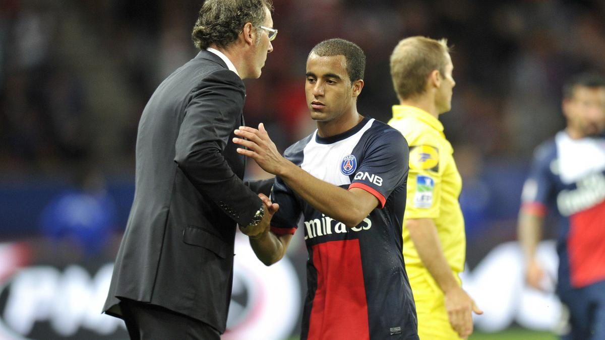 Laurent Blanc & Lucas, PSG