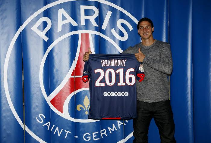 PSG - Ibrahimovic : «C'est vrai que j'ai discuté avec plusieurs clubs cet été»