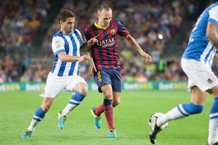 Andrés Iniesta, Barcelone
