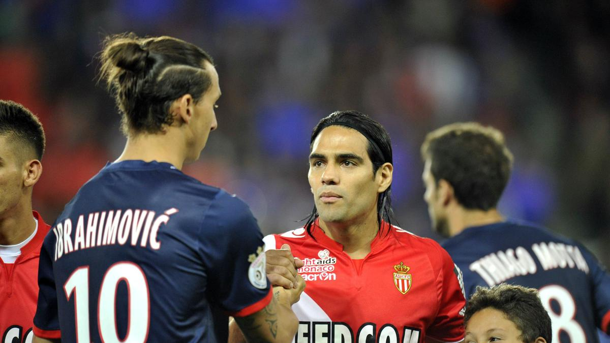Zlatan Ibrahimovic & Radamel Falcao