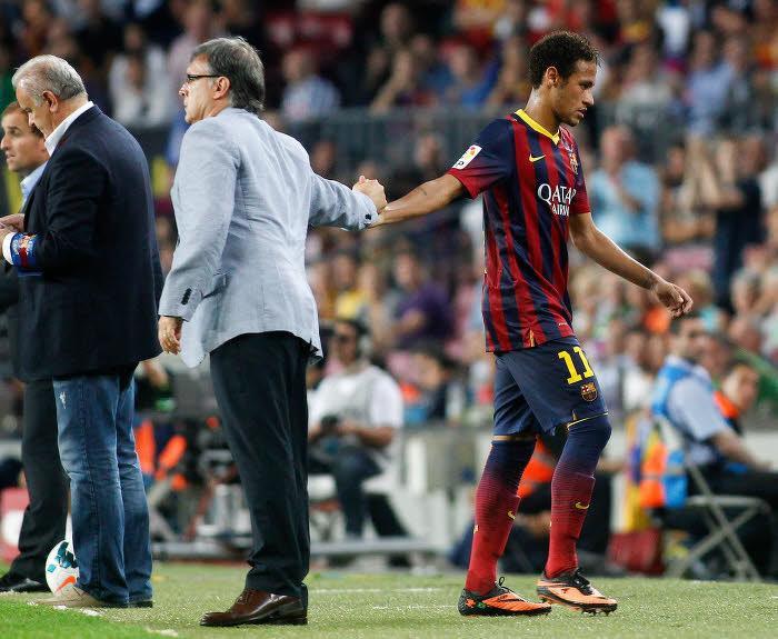 Quand Martino évoque la sortie karting de Neymar…