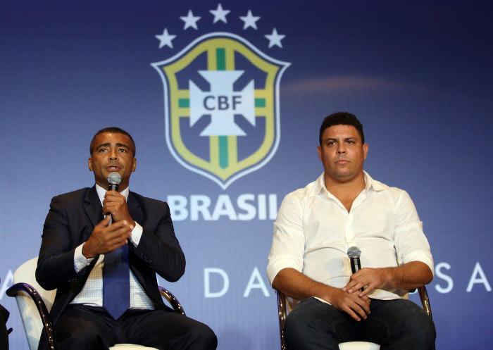Romario et Ronaldo