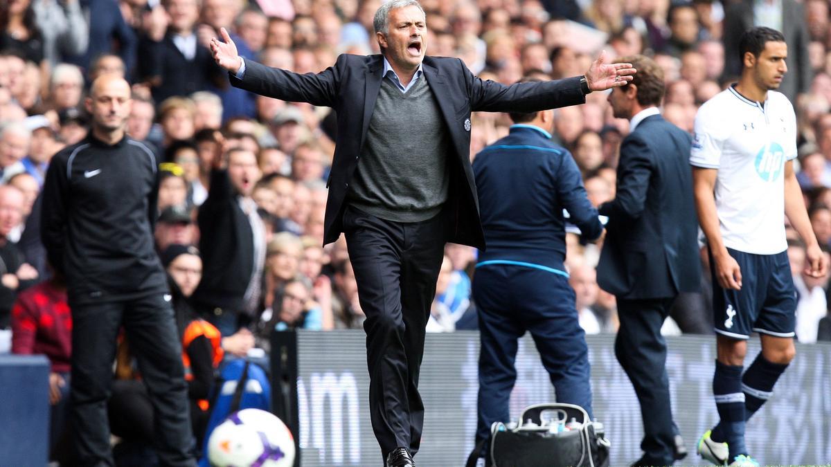 Mourinho de nouveau agacé devant la presse