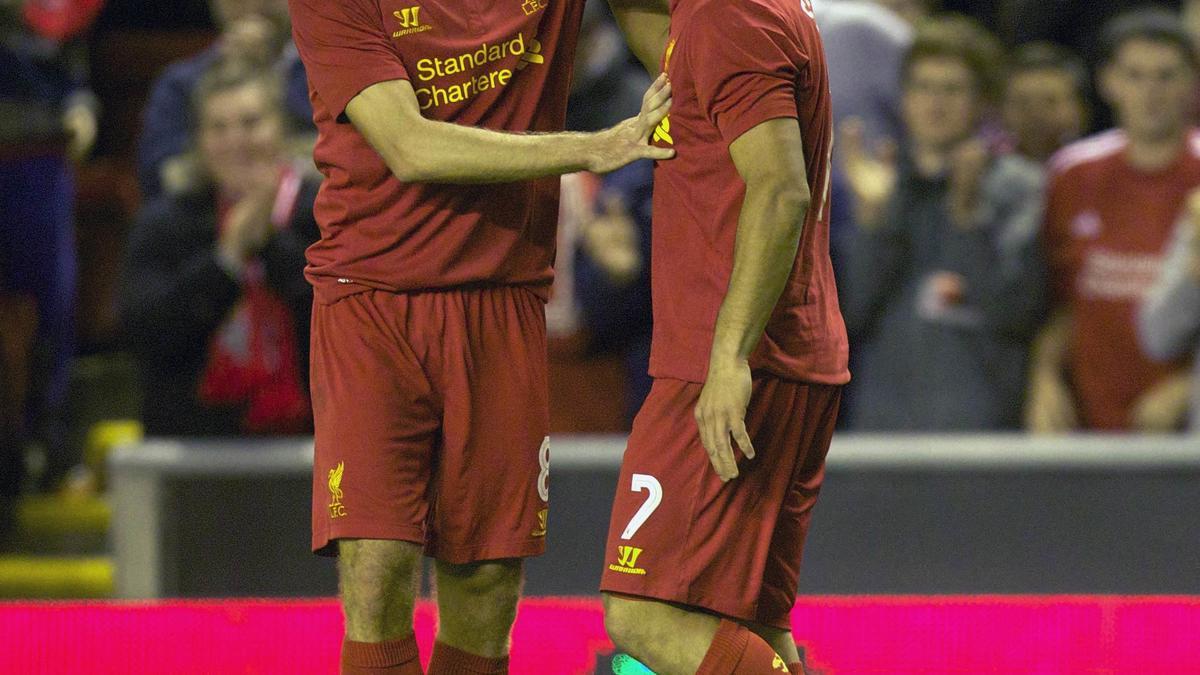 Steven Gerrard & Luis Suarez, Liverpool