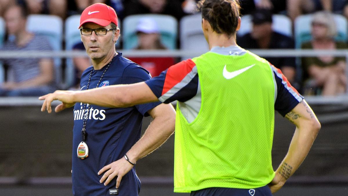 Laurent Blanc & Zlatan Ibrahimovic, PSG