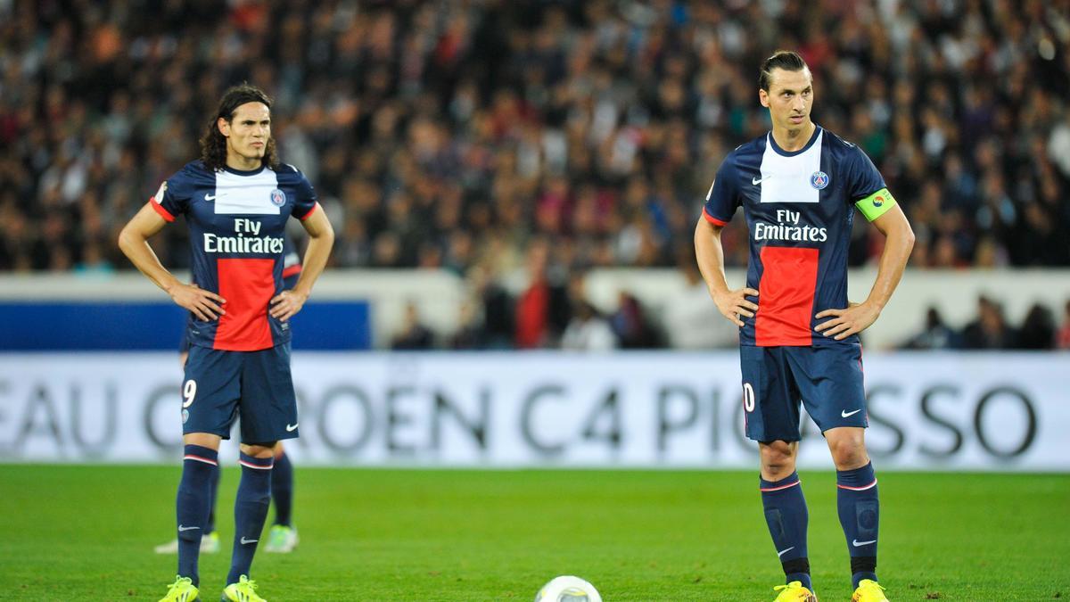 Quand Laurent Blanc juge l'association Ibrahimovic - Cavani !