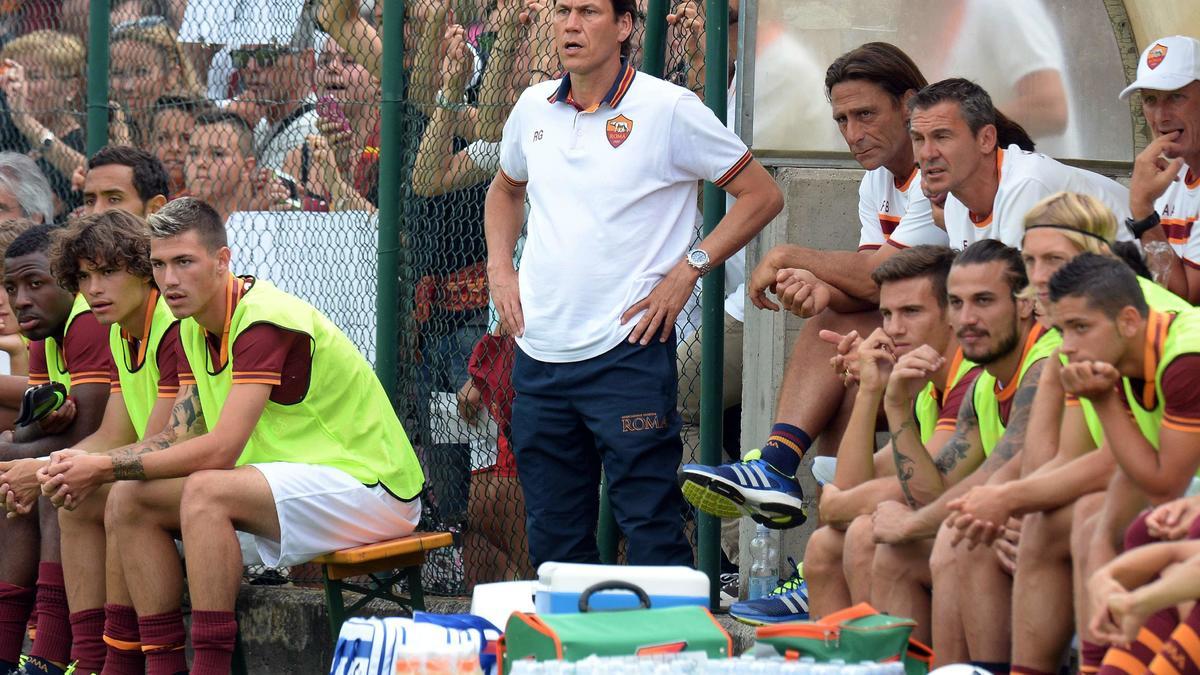 AS Rome - Garcia : «J