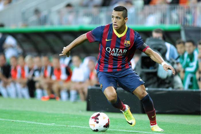 Alexis Sanchez, FC Barcelone
