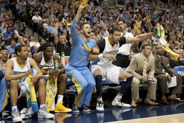 Les Denver Nuggets ont dominé les Los Angeles Lakers
