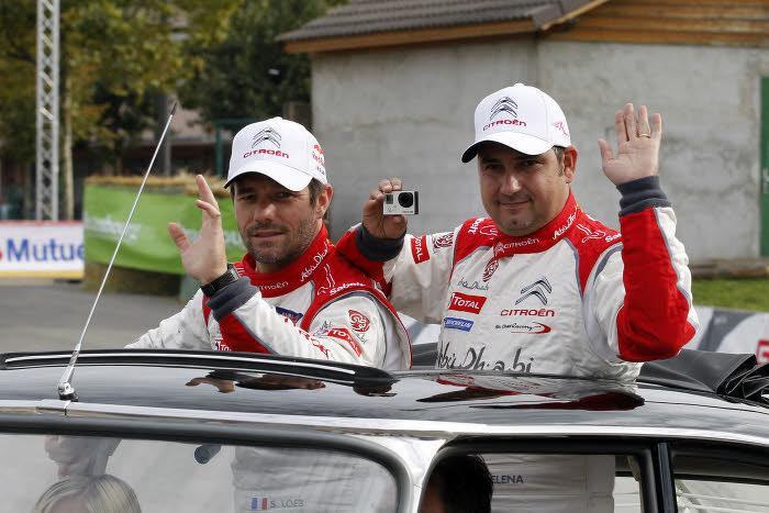 Sébastien Loeb et Daniel Elena, les éternels comparses