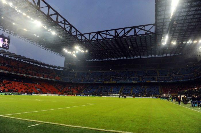 Stade Guiseppe Meazza de San Siro, Milan