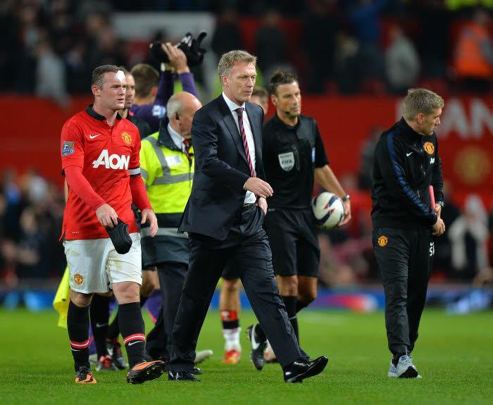 Wayne Rooney & David Moyes, Manchester United