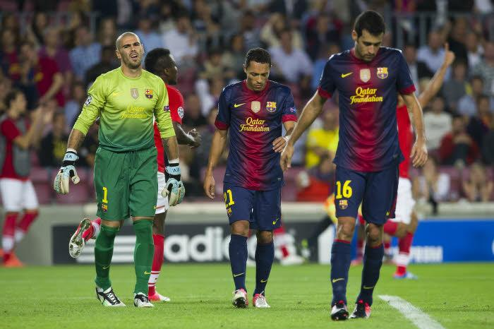 Victor Valdés et Sergio Busquets ne seront plus partenaires l'an prochain