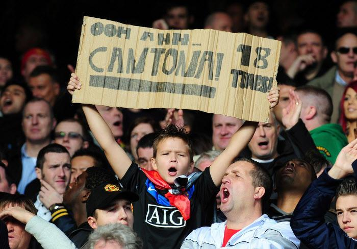Supporters Manchester United