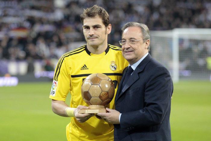 Iker Casillas & Florentino Perez, Real Madrid