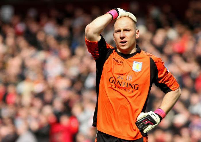 Bradley Guzan, Aston Villa