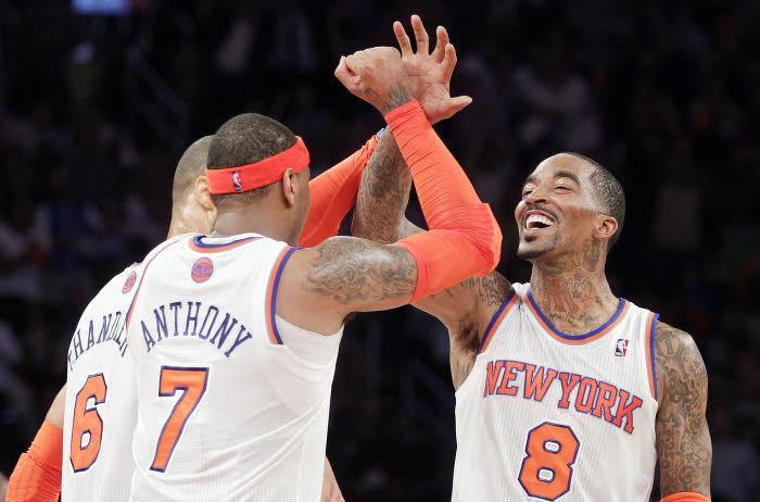 Carmelo Anthony, New York