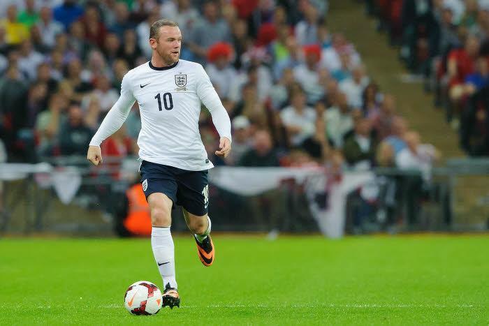 Wayne Rooney, Angleterre