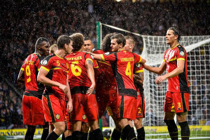 Les Diables Rouges en action