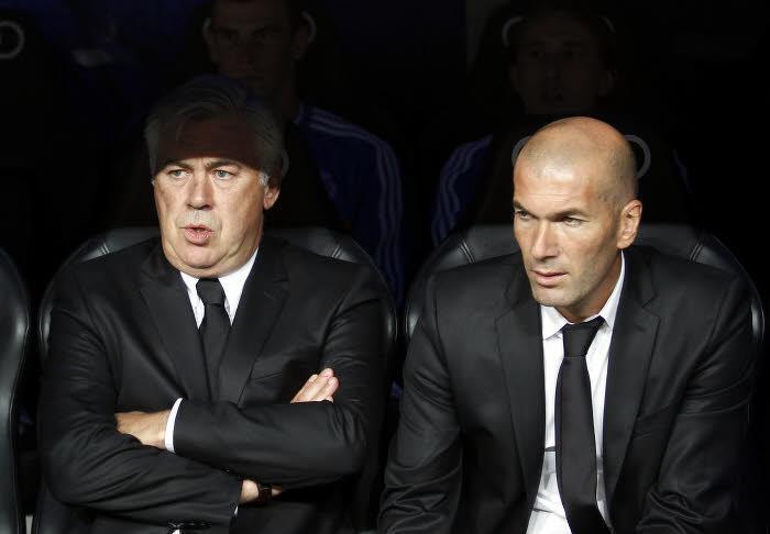 Zidane : «Je rêve d'être sélectionneur des Bleus»