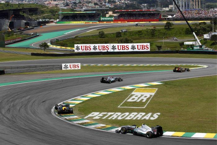 Circuit d'Interlagos, Brésil