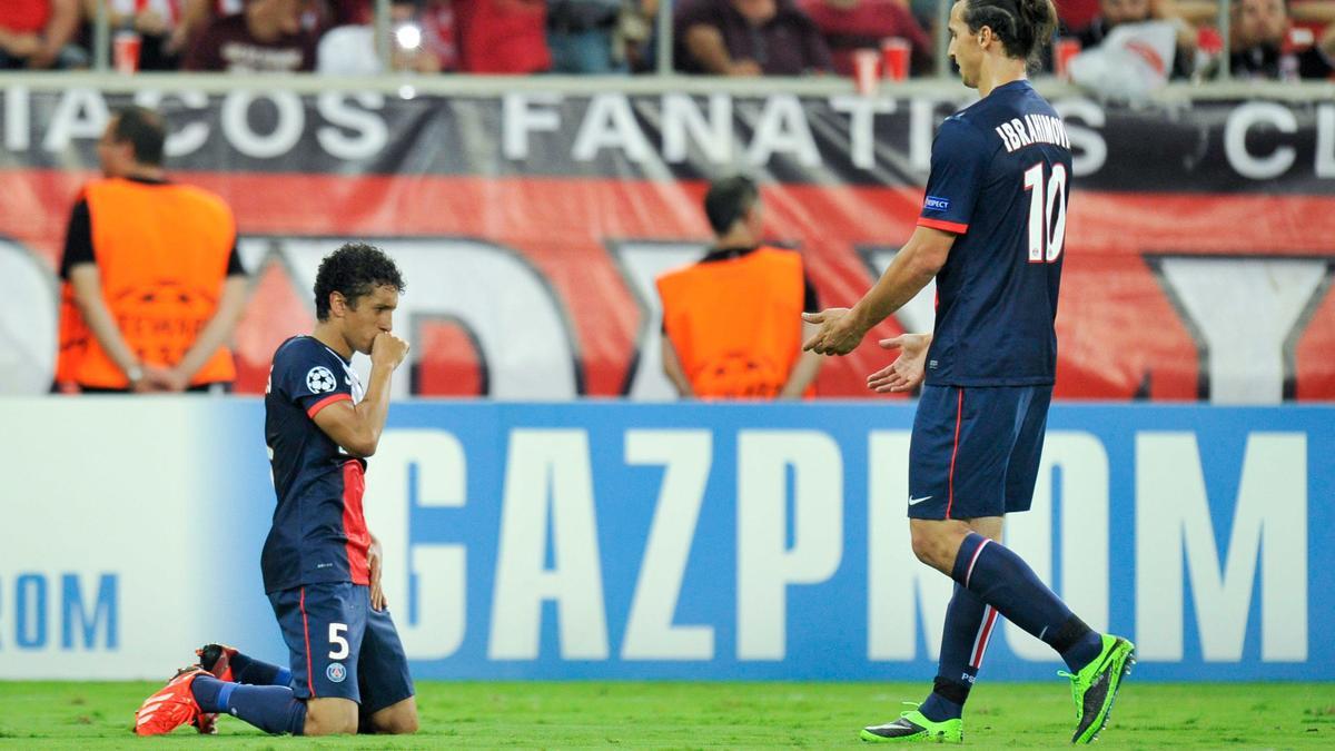 Marquinhos évoque sa relation avec Ibrahimovic