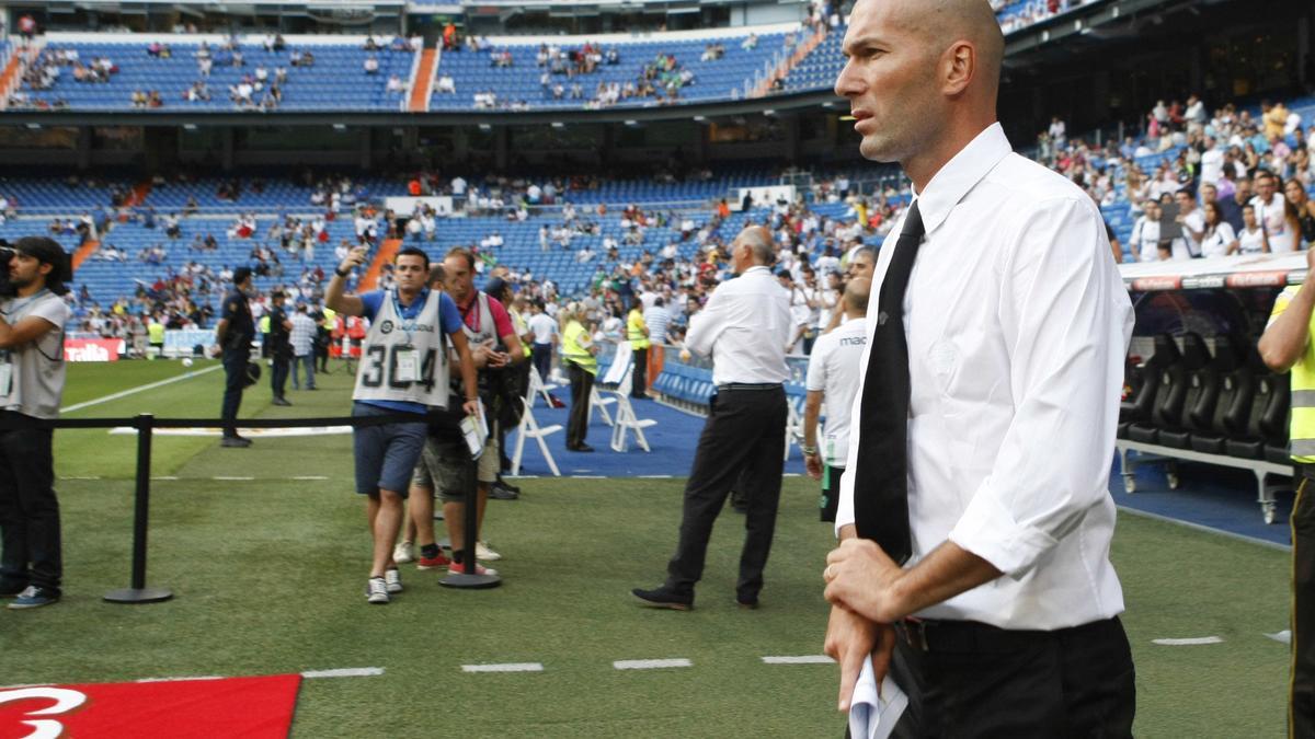Zidane entraîneur des Merengue ? La date serait connue !