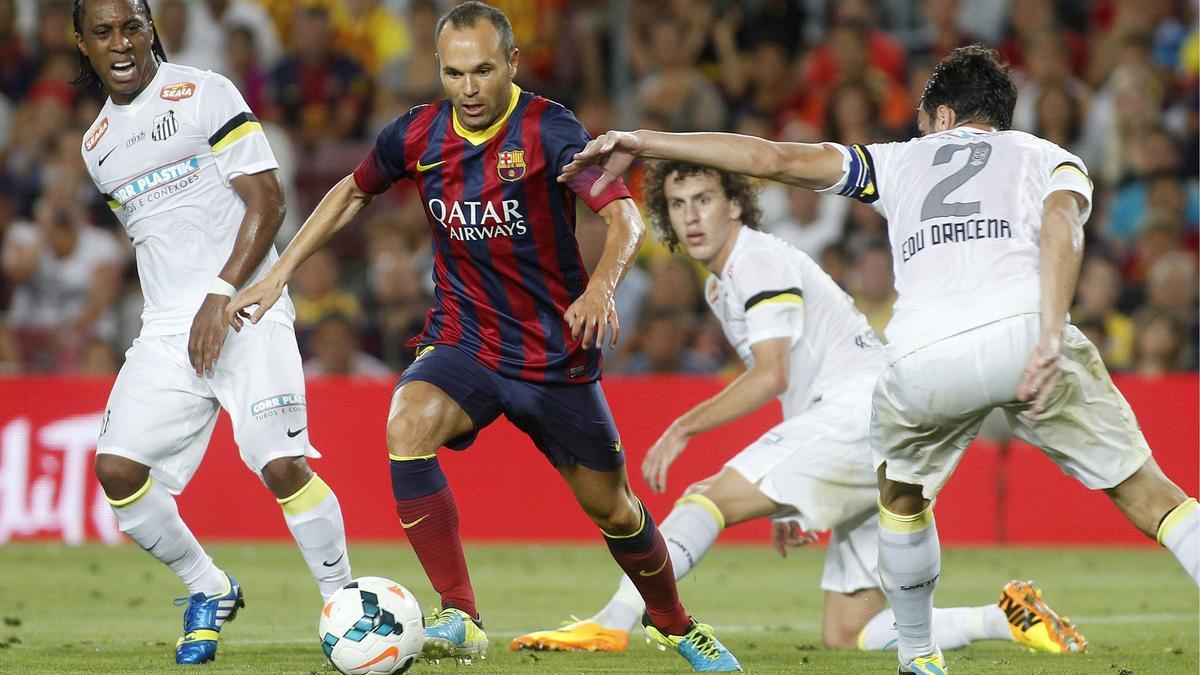 PSG : Iniesta déclare de nouveau sa flamme à Barcelone