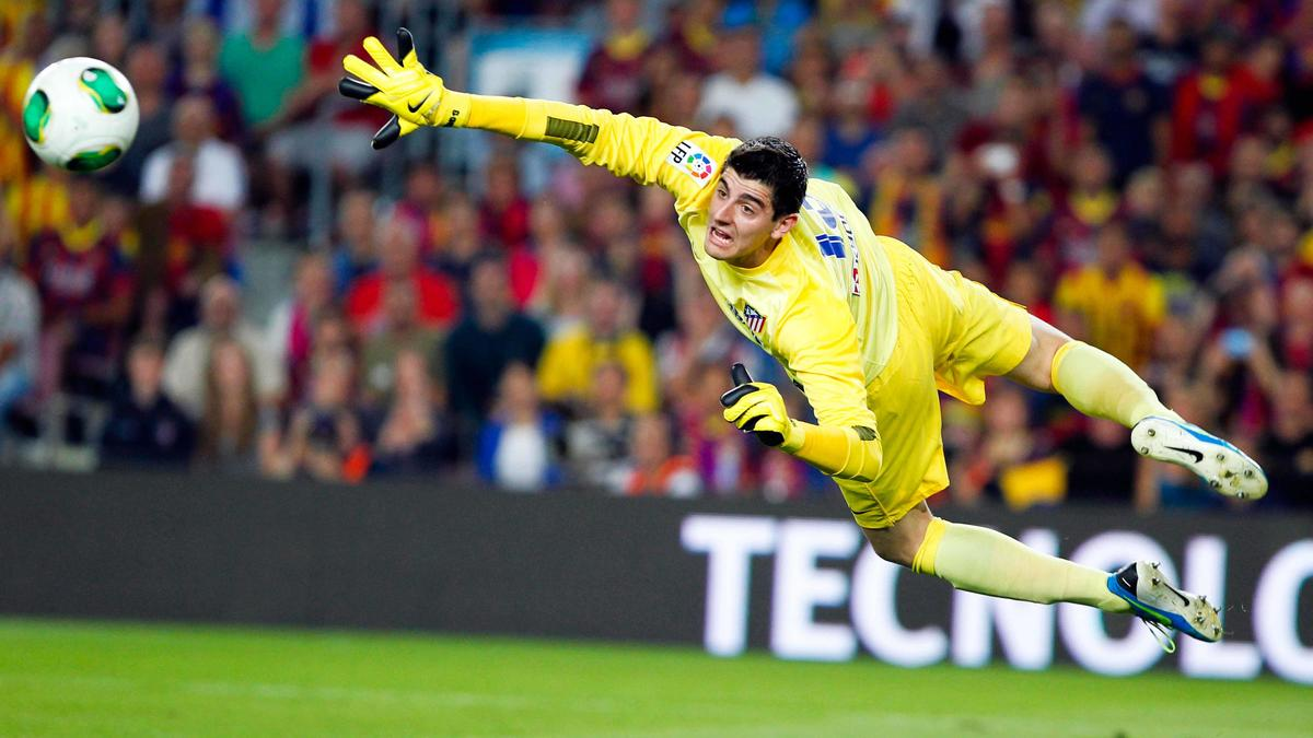 Thibaut Courtois, Atletico Madrid