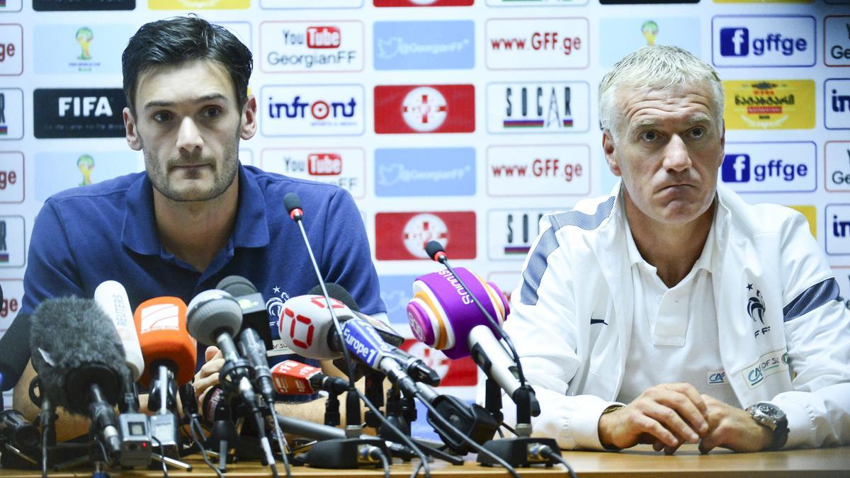 Hugo Lloris & Didier Deschamps