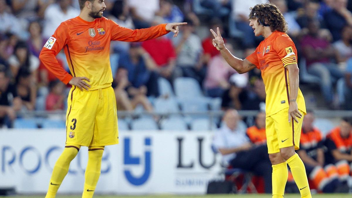 Gerard Piqué & Carles Puyol, FC Barcelone
