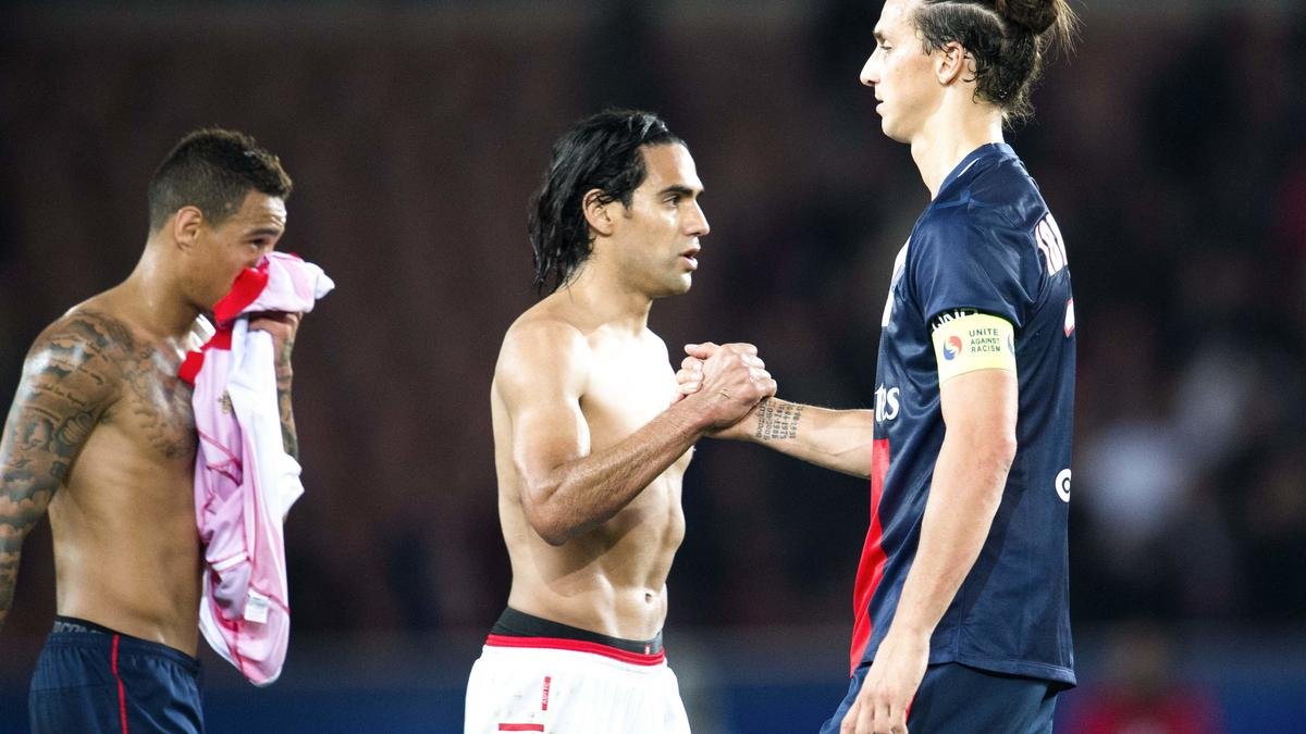 Radamel Falcao & Zlatan Ibrahimovic
