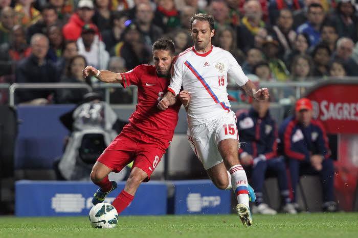 Joao Moutinho & Roman Shirokov