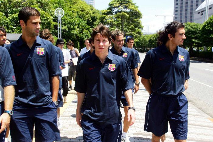 Lionel Messi, en 2004