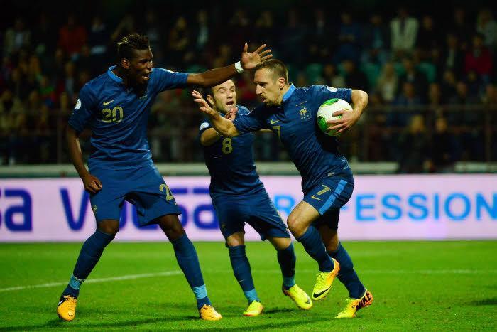 Paul Pogba, Ribéry, France