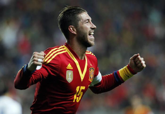 Sergio Ramos, Espagne
