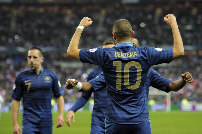 Équipe de France : Benzema de nouveau buteur ! (vidéo)