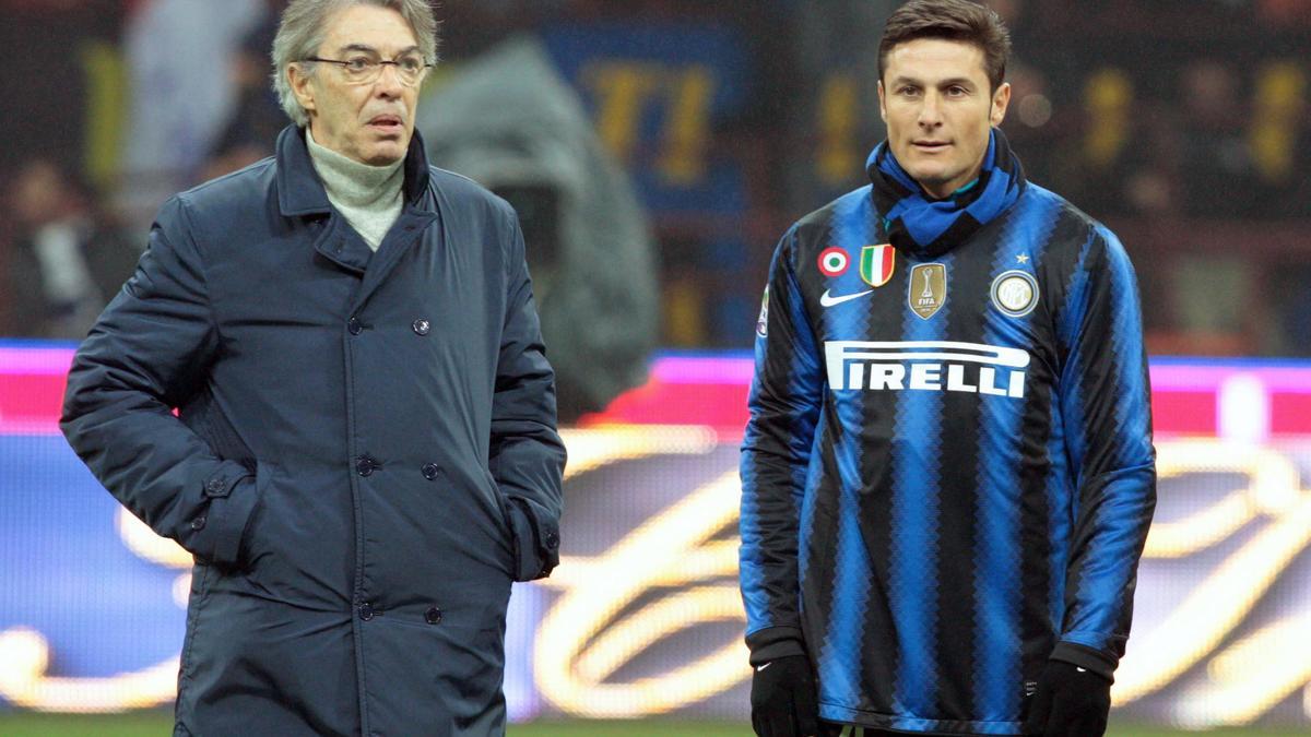 Javier Zanetti & Massimo Moratti, Inter Milan