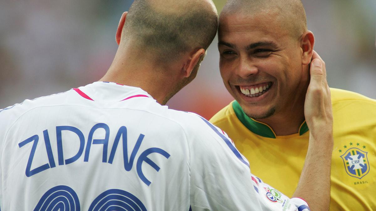 Zinedine Zidane & Ronaldo