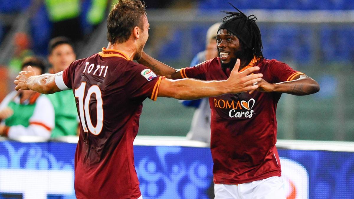 Francesco Totti & Gervinho, AS Roma