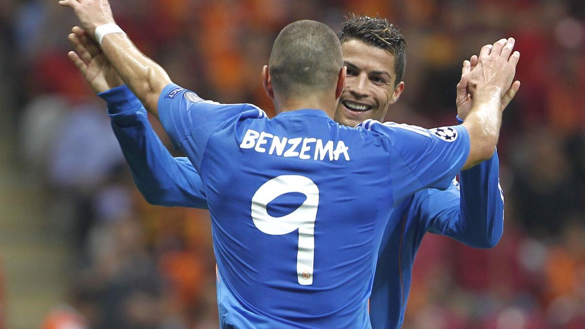 Karim Benzema & Cristiano Ronaldo, Real Madrid