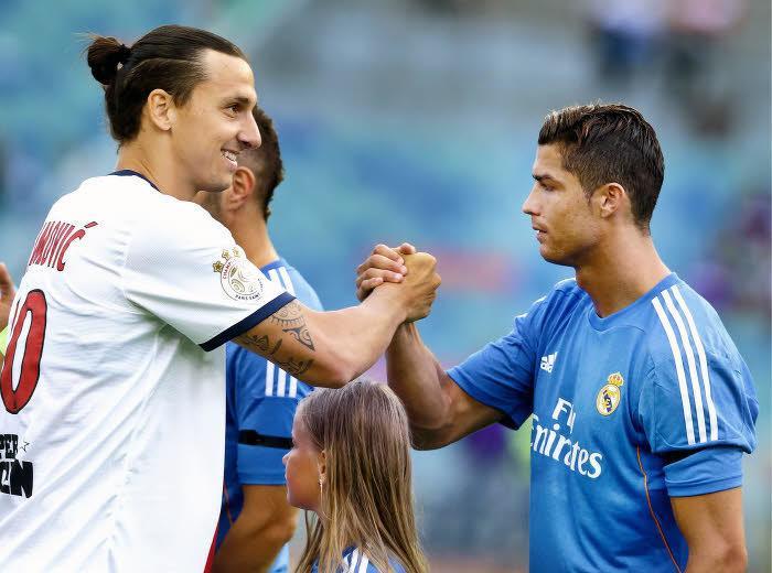 Ibrahimovic, Ronaldo, PSG, Real Madrid