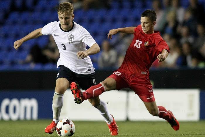 Luke Shaw, Angleterre U21