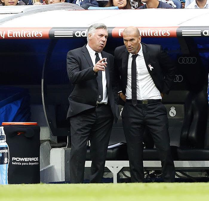 Zidane : «Pourvu que Cristiano Ronaldo ait le Ballon d'Or»